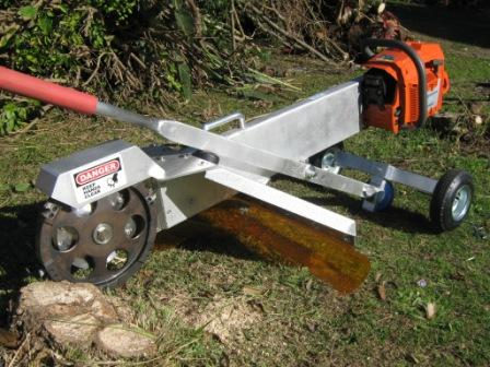 Homemade stump grinder homemade ftempo for Alpine cuisine meat grinder